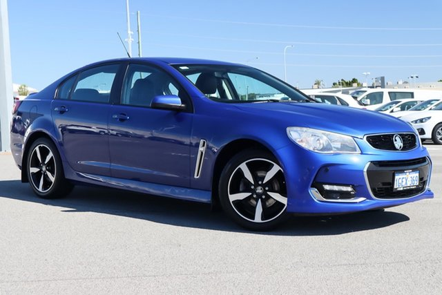Used Holden Commodore VF II MY17 SV6 Wangara, 2017 Holden Commodore VF II MY17 SV6 Blue 6 Speed Sports Automatic Sedan