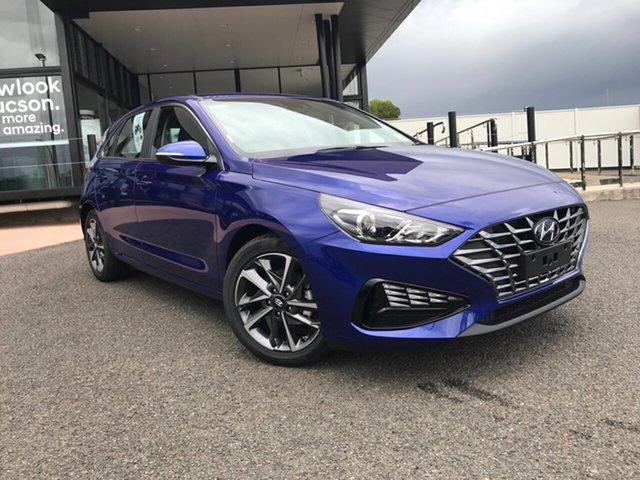 New Hyundai i30 PD.V4 MY21 Elite Gladstone, 2021 Hyundai i30 PD.V4 MY21 Elite Blue 6 Speed Sports Automatic Hatchback