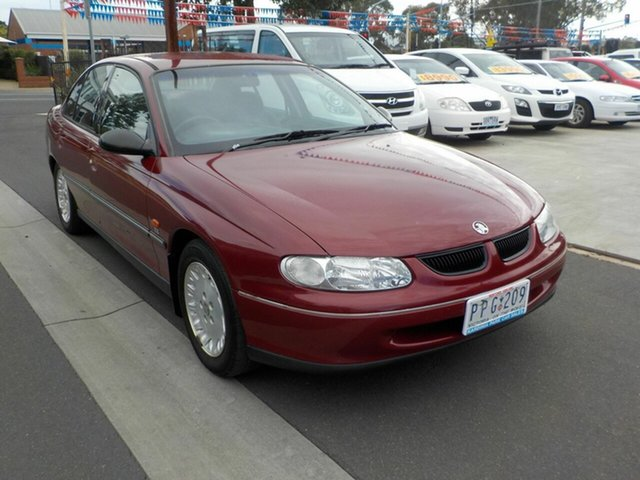 Used Holden Commodore VT Acclaim Newtown, 1999 Holden Commodore VT Acclaim Maroon 4 Speed Automatic Sedan