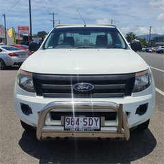 2011 Ford Ranger PX XL White 6 Speed Manual Cab Chassis
