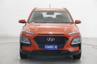 2019 Hyundai Kona OS.2 MY19 Go 2WD Orange 6 Speed Sports Automatic Wagon.