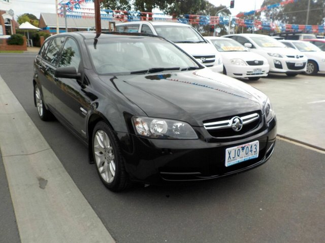 Used Holden Commodore VE MY09.5 International Newtown, 2009 Holden Commodore VE MY09.5 International Black 4 Speed Automatic Sportswagon