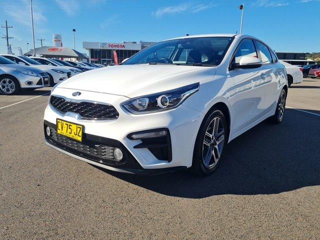 Pre-Owned Kia Cerato BD MY19 Sport Cardiff, 2019 Kia Cerato BD MY19 Sport White 6 Speed Sports Automatic Hatchback