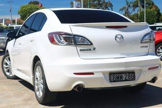 2009 Mazda 3 BL SP25 White 5 Speed Automatic Sedan.