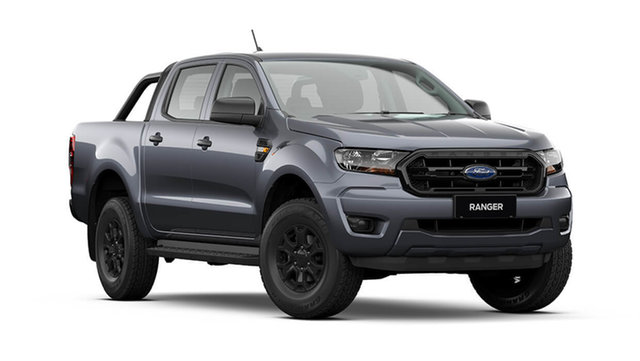New Ford Ranger PX MkIII 2021.75MY Sport Cardiff, 2021 Ford Ranger PX MkIII 2021.75MY Sport Meteor Grey 6 Speed Manual Double Cab Pick Up