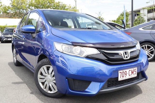 Used Honda Jazz GF MY16 VTi Mount Gravatt, 2016 Honda Jazz GF MY16 VTi Blue 5 Speed Manual Hatchback