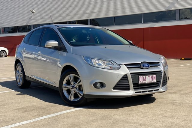 Used Ford Focus LW MK2 Trend Morayfield, 2013 Ford Focus LW MK2 Trend Silver 6 Speed Automatic Hatchback