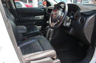 2013 Jeep Compass MK MY13 Limited CVT Auto Stick White Nova 6 Speed Automatic Wagon