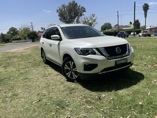 Pre-Owned Nissan Pathfinder R52 Series II MY17 ST X-tronic 2WD Moree, 2017 Nissan Pathfinder R52 Series II MY17 ST X-tronic 2WD White 1 Speed Constant Variable Wagon