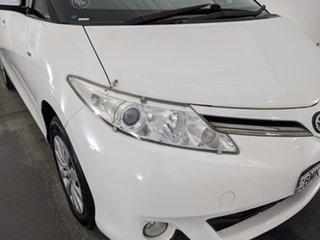 2010 Toyota Tarago ACR50R MY09 GLi White 4 Speed Sports Automatic Wagon.