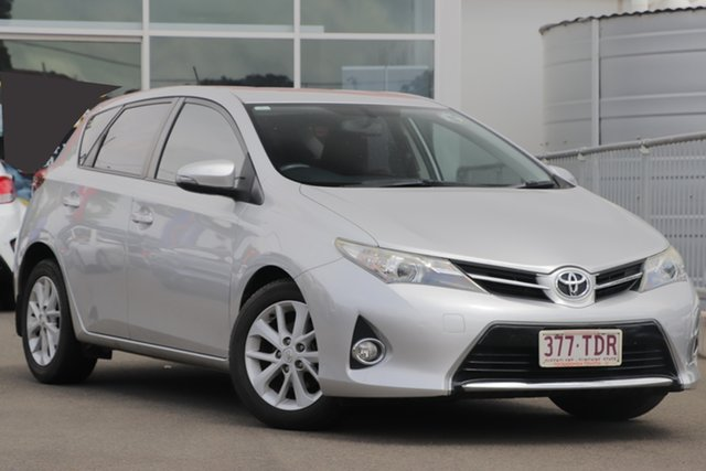 Used Toyota Corolla ZRE182R Ascent Sport S-CVT Toowoomba, 2013 Toyota Corolla ZRE182R Ascent Sport S-CVT Silver 7 Speed Constant Variable Hatchback