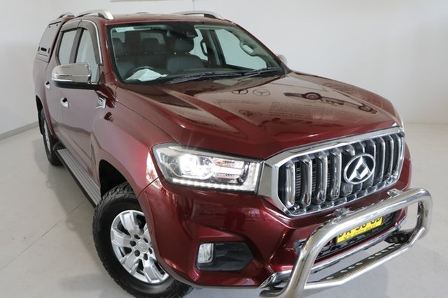 Used LDV T60 SK8C Luxe Wagga Wagga, 2017 LDV T60 SK8C Luxe Maroon 6 Speed Sports Automatic Utility