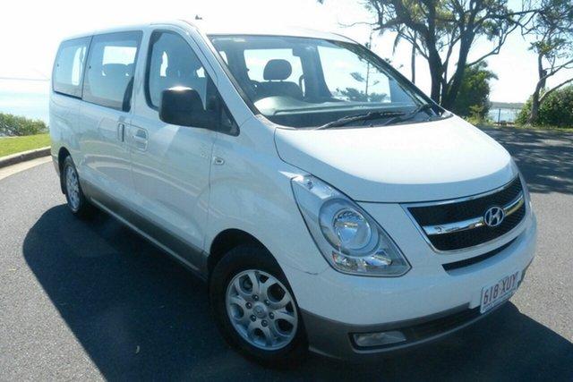 Used Hyundai iMAX TQ-W MY15 Gladstone, 2015 Hyundai iMAX TQ-W MY15 White 4 Speed Automatic Wagon