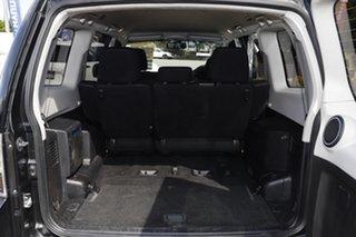 2012 Mitsubishi Pajero NW MY12 Platinum Pitch Black/cloth 5 Speed Sports Automatic Wagon