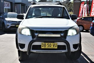 2011 Ford Ranger PX XLT Double Cab 4x2 Hi-Rider Black 6 Speed Sports Automatic Utility.
