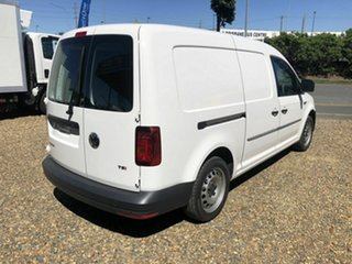 2017 Volkswagen Caddy MAXI White 7 Speed Sports Automatic Dual Clutch Panel Van