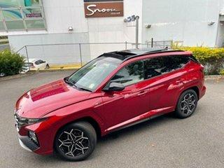 2021 Hyundai Tucson NX4.V1 MY22 Highlander 2WD N Line Crimson Red 6 Speed Automatic Wagon.