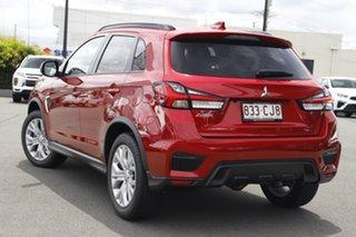 2021 Mitsubishi ASX XD MY21 ES Plus 2WD Red Diamond 1 Speed Constant Variable Wagon.
