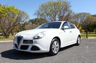 2013 Alfa Romeo Giulietta Series 0 MY13 Progression TCT White 6 Speed Sports Automatic Dual Clutch