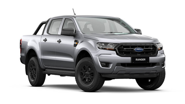 New Ford Ranger PX MkIII 2021.75MY Sport Rutherford, 2021 Ford Ranger PX MkIII 2021.75MY Sport Aluminium Silver 6 Speed Sports Automatic