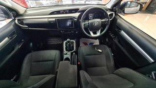 2017 Toyota Hilux GUN126R SR5 Double Cab Silver 6 Speed Manual Utility