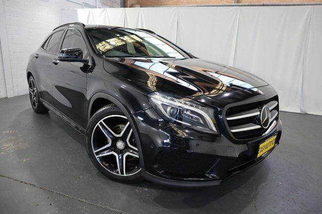 Used Mercedes-Benz GLA-Class X156 805+055MY GLA250 DCT 4MATIC Castle Hill, 2015 Mercedes-Benz GLA-Class X156 805+055MY GLA250 DCT 4MATIC Black 7 Speed