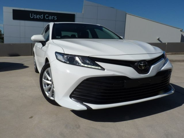 Pre-Owned Toyota Camry ASV70R Ascent Blacktown, 2019 Toyota Camry ASV70R Ascent Glacier White 6 Speed Sports Automatic Sedan