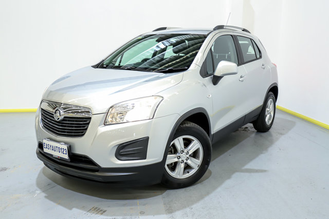 Used Holden Trax TJ MY14 LS Canning Vale, 2013 Holden Trax TJ MY14 LS Silver 5 Speed Manual Wagon