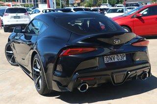 2019 Toyota Supra J29 GR GTS Bathurst Black 8 Speed Sports Automatic Coupe.