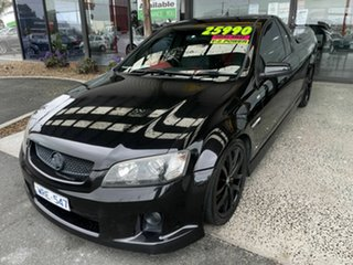 2008 Holden Commodore VE MY09.5 SS-V Black 6 Speed Automatic Utility
