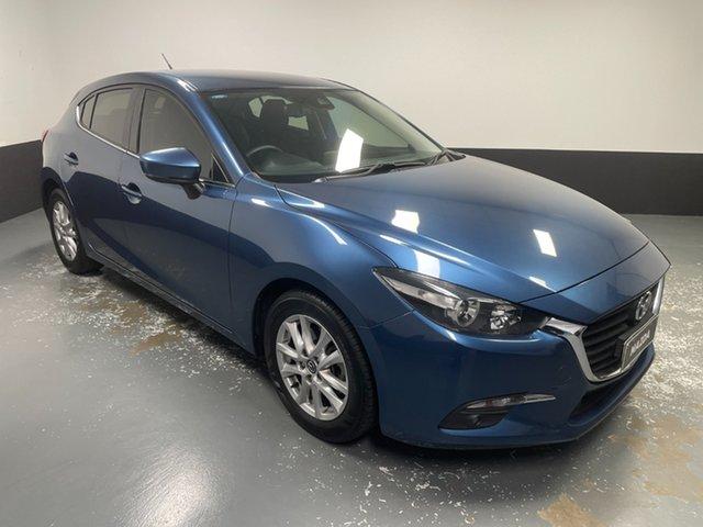 Used Mazda 3 BN5478 Touring SKYACTIV-Drive Rutherford, 2017 Mazda 3 BN5478 Touring SKYACTIV-Drive Blue 6 Speed Sports Automatic Hatchback