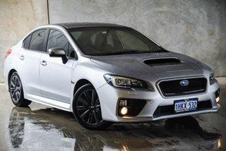 2014 Subaru WRX V1 MY15 Lineartronic AWD Silver, Chrome 8 Speed Constant Variable Sedan.