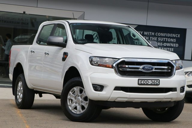 Used Ford Ranger PX MkIII 2020.25MY XLS Homebush, 2019 Ford Ranger PX MkIII 2020.25MY XLS White 6 Speed Sports Automatic Double Cab Pick Up
