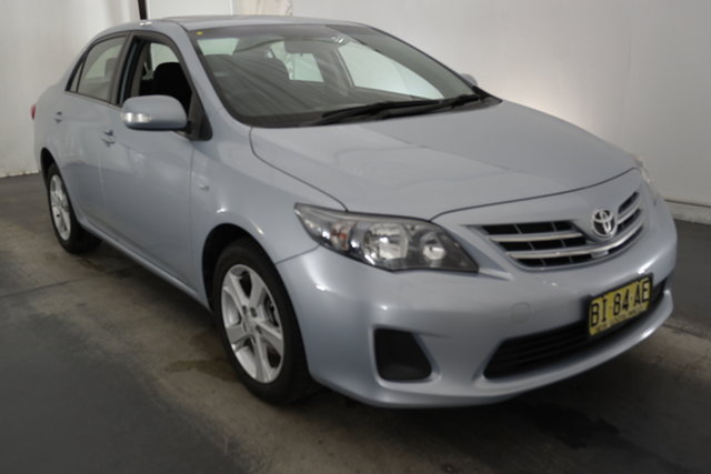 Used Toyota Corolla ZRE152R Conquest Maryville, 2010 Toyota Corolla ZRE152R Conquest Light Blue 4 Speed Automatic Sedan