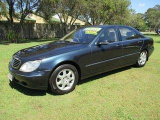 2001 Mercedes-Benz S-Class W220 S320 Blue 5 Speed Automatic Sedan.