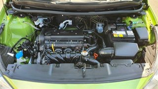 2013 Hyundai Accent RB Active Green 4 Speed Sports Automatic Hatchback