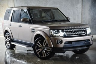 2015 Land Rover Discovery Series 4 L319 MY16 TDV6 Bronze 8 Speed Sports Automatic Wagon.
