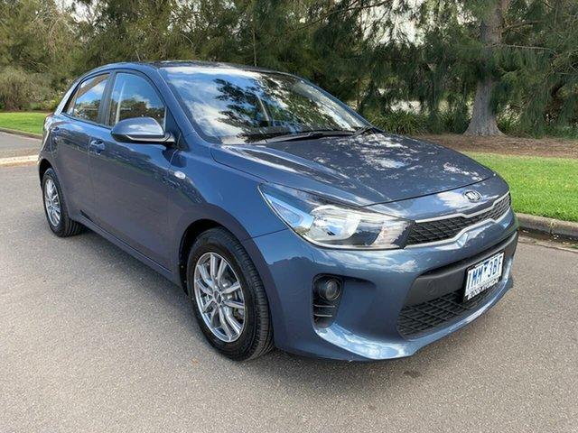 Used Kia Rio YB S Geelong, 2018 Kia Rio YB S Blue 4 Speed Sports Automatic Hatchback