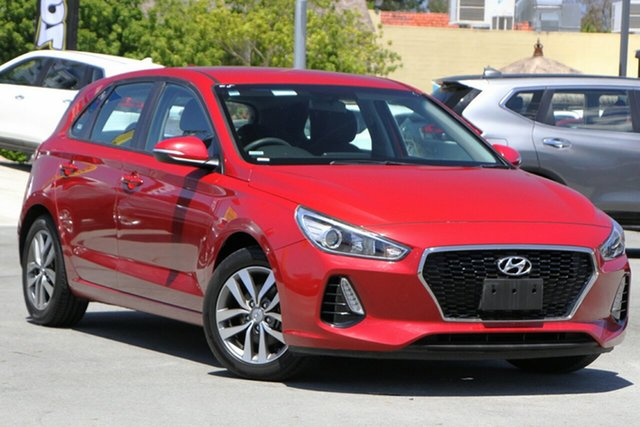 Used Hyundai i30 PD MY18 Active Aspley, 2017 Hyundai i30 PD MY18 Active Red 6 Speed Sports Automatic Hatchback