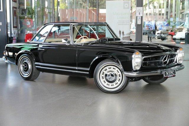 Used Mercedes-Benz 280SL R113 Sports North Melbourne, 1969 Mercedes-Benz 280SL R113 Sports Black 4 Speed Manual Roadster