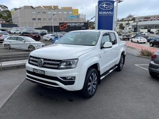 2021 Volkswagen Amarok 2H MY21 TDI580 4MOTION Perm Aventura Candy White 8 Speed Automatic Utility.