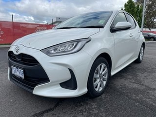 2020 Toyota Yaris Mxpa10R SX Crystal Pearl 1 Speed Constant Variable Hatchback.