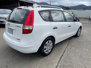 2011 Hyundai i30 FD MY11 SX cw Wagon White 4 Speed Automatic Wagon.