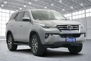 2019 Toyota Fortuner GUN156R Crusade Silver 6 Speed Automatic Wagon.