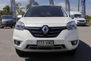 2014 Renault Koleos H45 Phase III Bose Pearl White 1 Speed Constant Variable Wagon