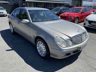 2003 Mercedes-Benz E-Class W211 E500 Elegance Silver 5 Speed Sports Automatic Sedan.