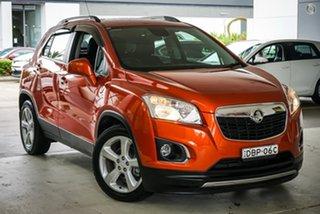 2014 Holden Trax TJ MY15 LTZ Orange 6 Speed Automatic Wagon.