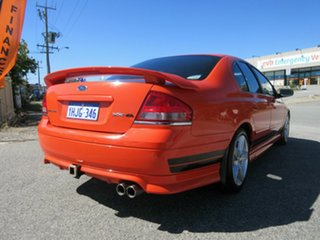 2003 Ford Falcon BA XR8 Orange 5 Speed Manual Sedan