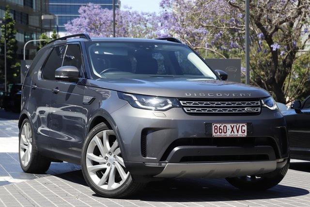 Used Land Rover Discovery Series 5 L462 MY18 HSE Newstead, 2017 Land Rover Discovery Series 5 L462 MY18 HSE Grey 8 Speed Sports Automatic Wagon