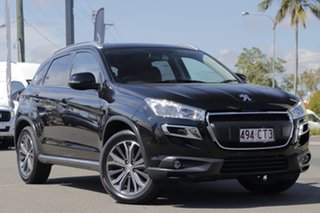 2015 Peugeot 4008 MY15 Active 2WD Black Pearl 6 Speed Constant Variable Wagon.